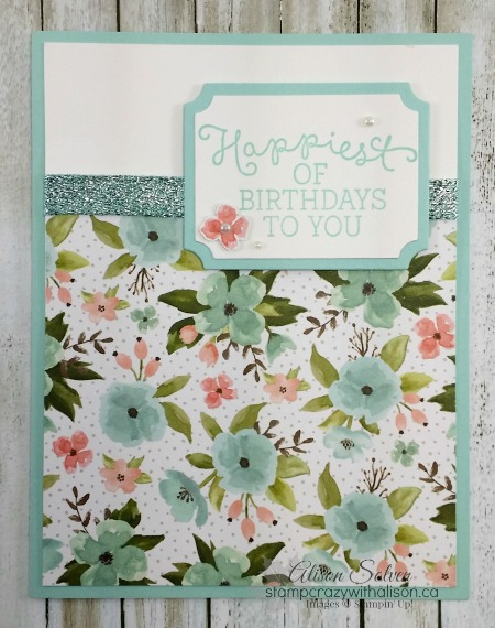 Happiest of Birthdays to You with Birthday Blooms Stamp Set