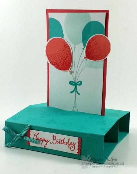 Balloon Celebration Stamp Set & Balloon Bouquet Punch!