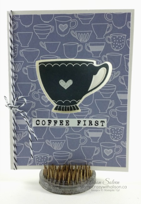 A Nice Cuppa and Cups & Kettle Framelits Dies
