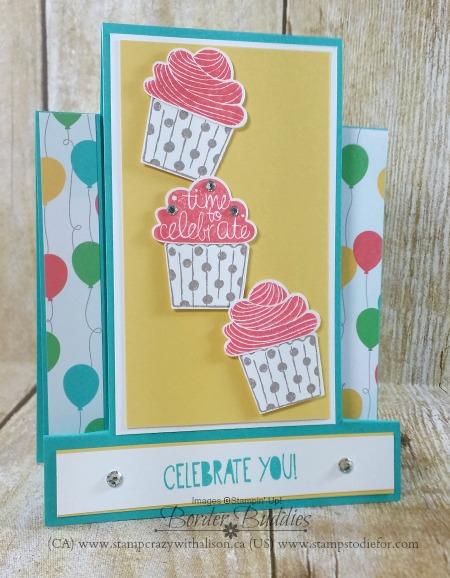 Cupcake Party Stamp Set – Border Buddy Saturday!