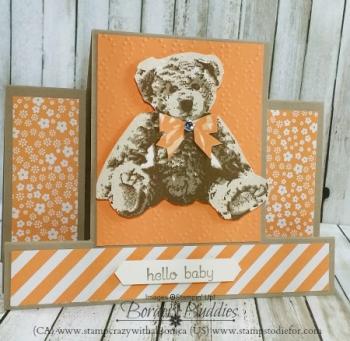 Baby Bear Stamp Set step card www.stampcrazywithalison.ca