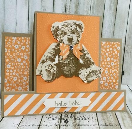 Baby Bear Step Card