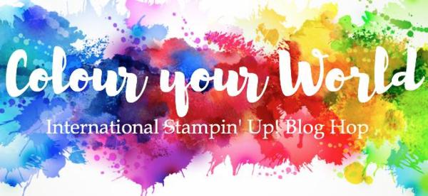 Colour Your World Blog Hop! Little Cuties