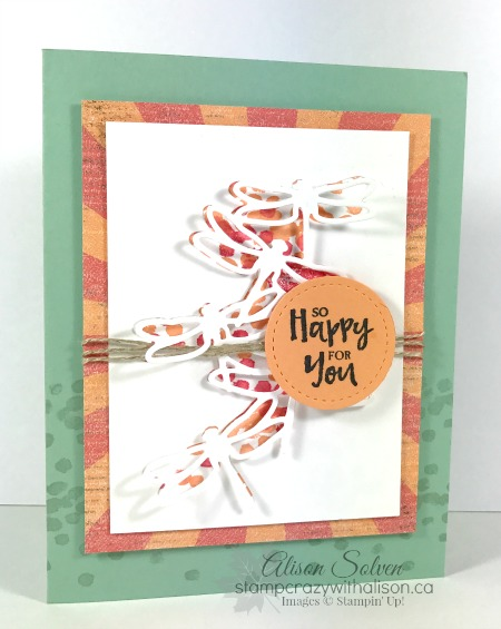 Just in Case – Detailed Dragonfly Thinlits Die So Happy for You