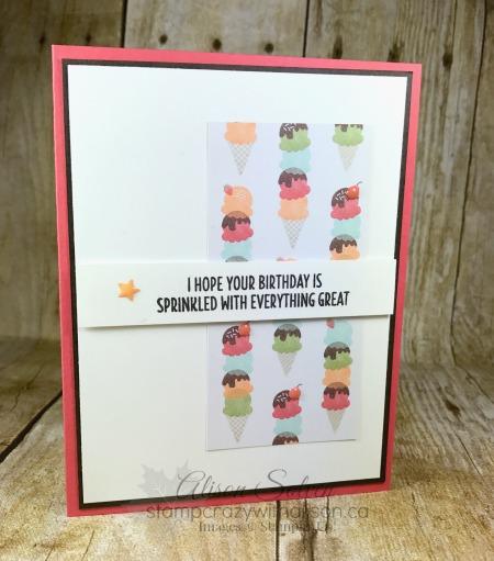 Tasty Treats Specialty Designer Series Paper! Earn it Free!