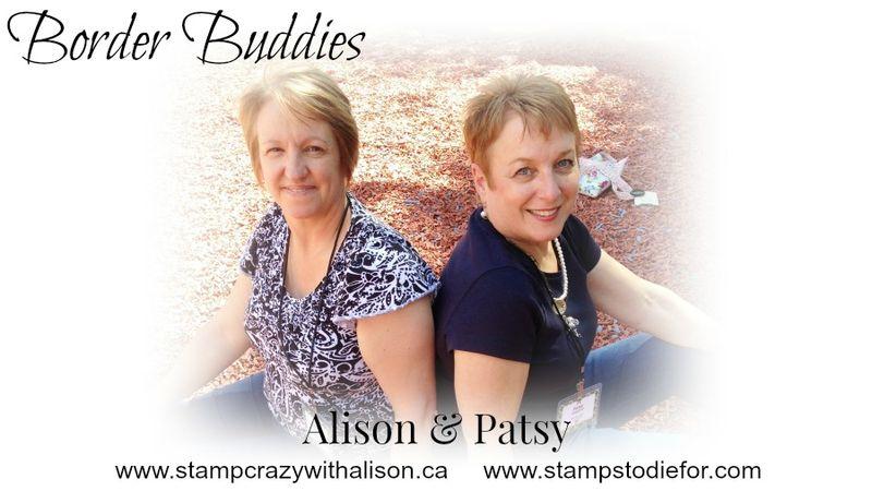 Border Buddies Saturday – Birthday Delivery Stamp Set