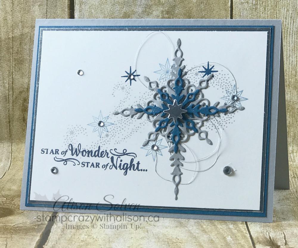 Colour Your World Blog Hop! – Star of Light & Starlight Thinlits