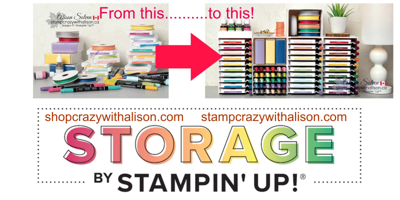 Storage by Stampin' Up!® – Coming April 1st – No Fooling!