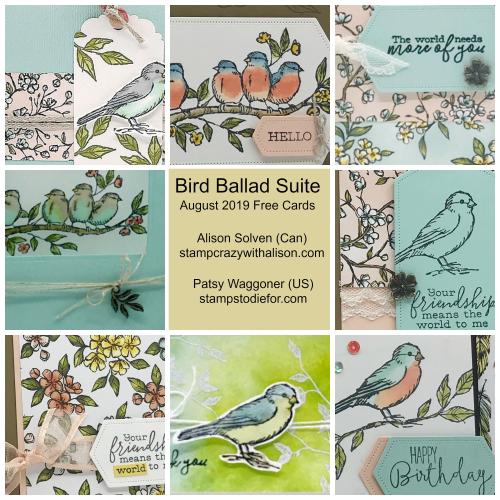 Bird Ballad Suite Collage 2