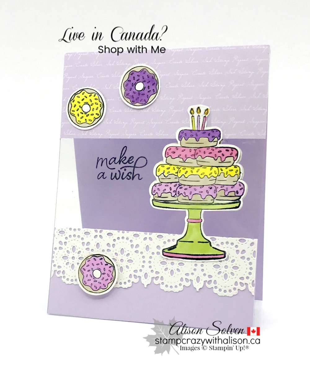 Birthday Goodness Cling Stamp Set from Stampin' Up!®