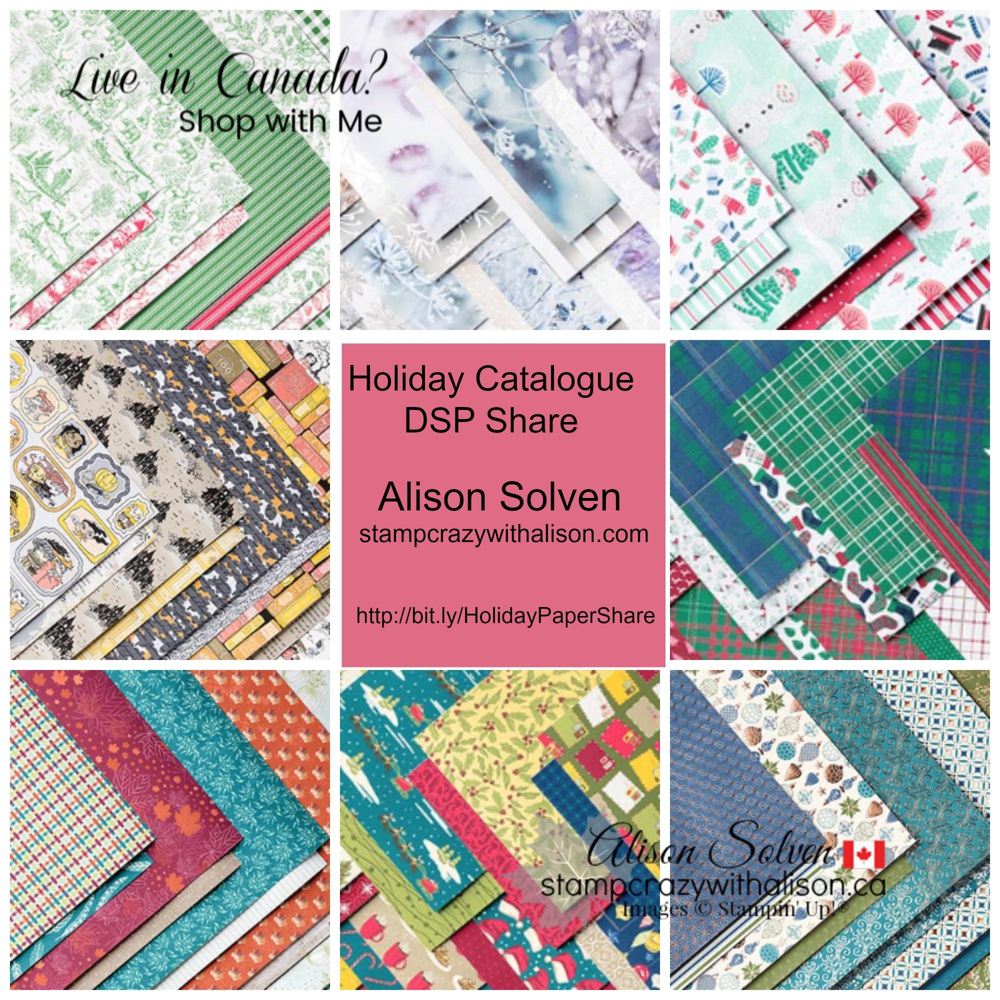 Holiday Catalogue Designer Series Paper Share