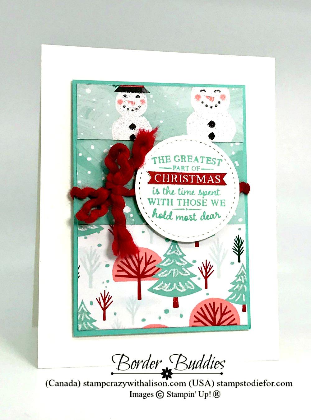 Border Buddy Saturday – Let it Snow Suite Recap