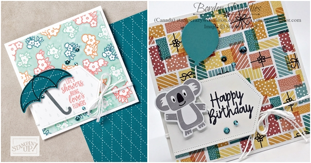 Just in CASE card created using the Birthday Bonanza Suite by Stampin' Up! 2-27 horz