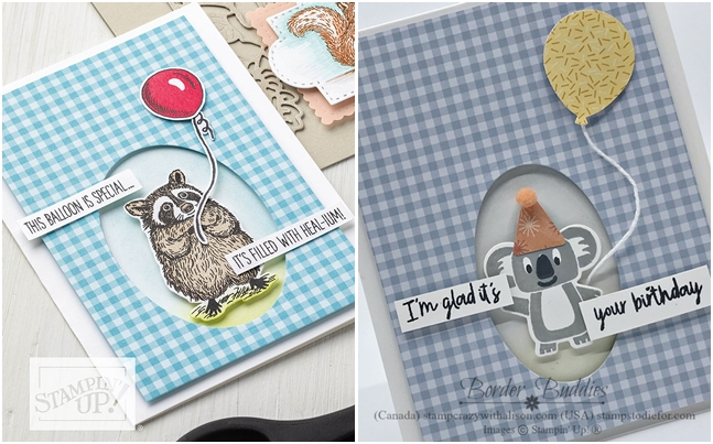 Just in CASE card created using the Birthday Bonanza Suite by Stampin' Up! 2-13 hroz