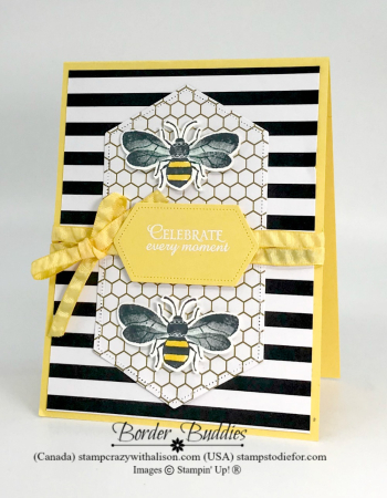 Just In Case Honey Bee Bundle www.stampcrazywithalison.com