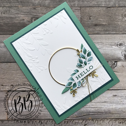 Forever Greenery Suite All Occasion Card