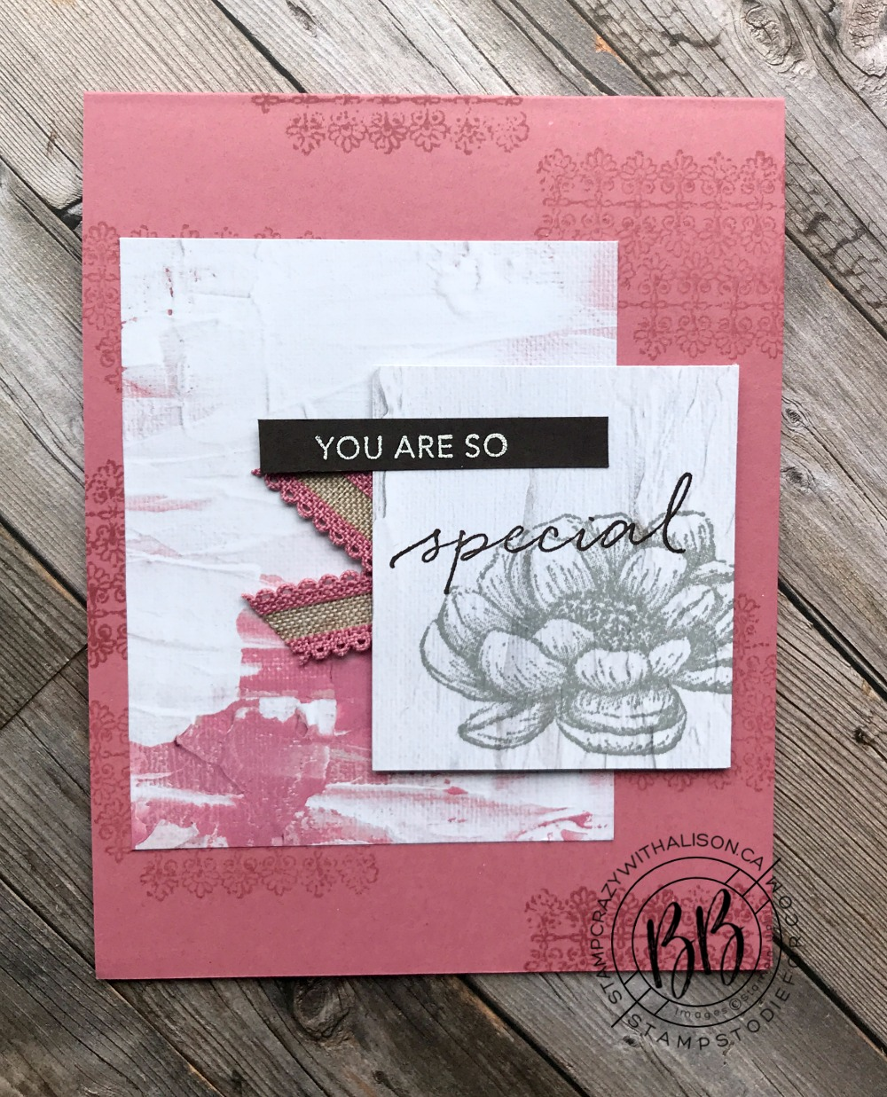 Sunday Sketches with the Tasteful Touches Stamp Set from Stampin' Up!®