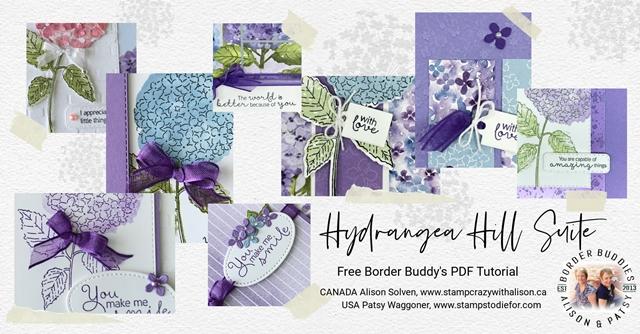 Hydrangea Hill Suite Border Buddy PDF Tutorial
