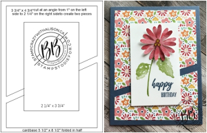 Sunday Sketch Hydrangea Haven and Pattern Party Paper