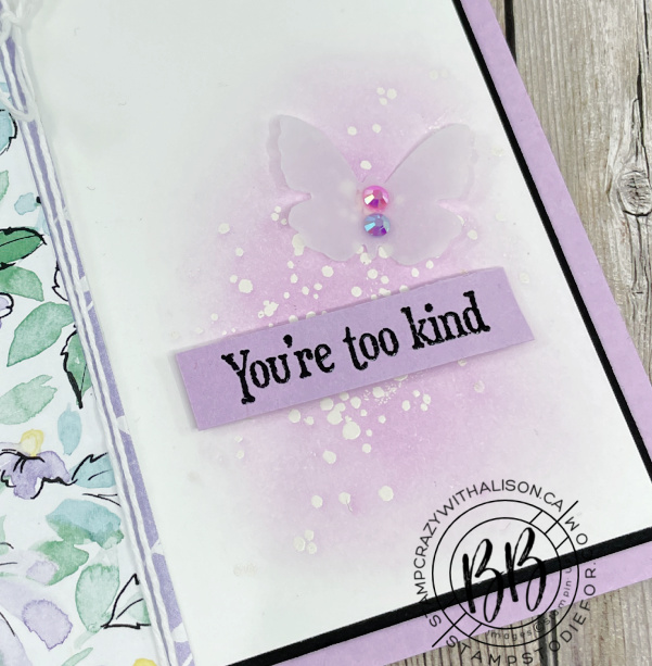 Canada Inks Up! Blog Hop with Hand Penned Designer Series Paper