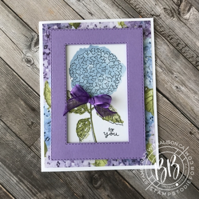 Hydrangea Haven Stamp Set by Stampin Up (3)