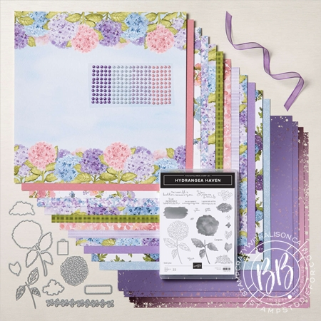 Hydrangea Hill Suite of Products by Stampin' Up!