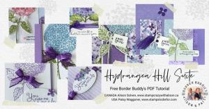 Hydrangea Hill Border Buddy Free PDF tutorial Sneak Peek