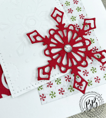 Canada Inks Up! Blog Hop featuring Gingerbread & Peppermint Suite from Stampin' Up!®