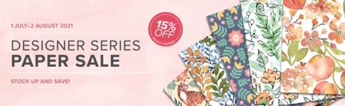 Stampin up designer series paper sale DSP Sale