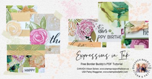 Expressions in Ink Suite PDF Tutorial Card Sneak Peek