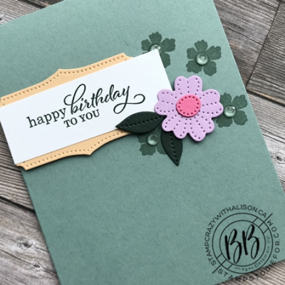 Just in CASE (copy and selectively edit) series card using the Lovely You & Best Year stamp set and Pierced Blooms Dies by Stampin' Up! (2)