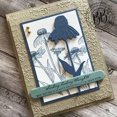 Border Buddy PDF Tutorial featuring the Nature's Harvest stamp set by Stampin' Up! (3)