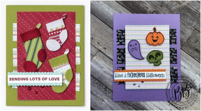 Border Buddies Just in CASE card page 30 using the Cutest Halloween stamp set by Stampin' Up (4)