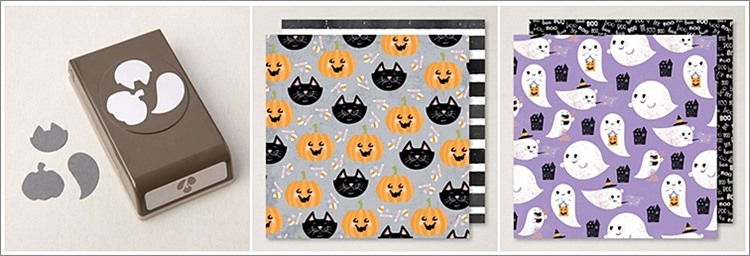 Halloween card created using the Cutest Halloween Bundle By Stampin' Up!