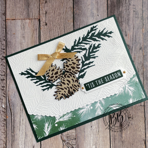 Swap Card featuring the Painted Christmas Suite Collection