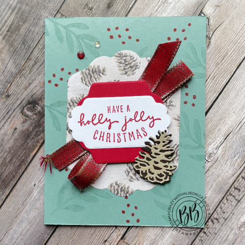 Sharing card from free Painted Christmas Suite Collection PDF