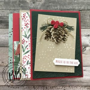 Spotlighting the cards in our October Kit to Go using Painted Christmas Suite