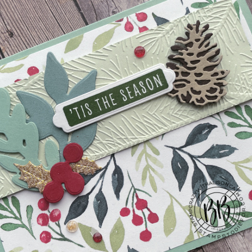 Painted Christmas Suite Collection using Border Buddy exclusive sketch